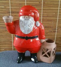 Lisa Larson Santa Claus Sweden Christmas Candle Holder