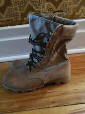 vintage uniform desert military army mens boots size 6.5 gay interest