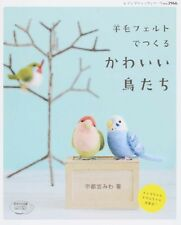 NEEDLE FELT Wool Cute Birds - Japanese Craft Book SP1
