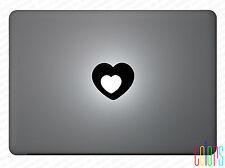 """Herz Heart Cool Aufkleber für Apple Macbook Air 13"""" 15"""" Pro Sticker Skin"""