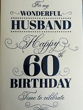 Husband 60th Birthday Card