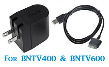 "Genuine NOOK CHARGER + USB CABLE 4 BARNES &NOBLE HD 7/9"" BNTV400 & BNTV600"