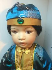 Timeless Collection Porcelain Limited Edition Oriental/Asian Doll. # 299/2000