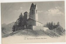 Switzerland, Alte Kirche bei Cellerina (San Gian) Early UB Postcard, B370
