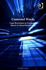 Applied Legal Philosophy: Contested Words : Legal Restrictions on Freedom of...
