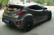 For Hyundai Veloster Turbo Fiber Glass FRP Seq Style Rear Roof Wing Spoiler