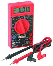 Cen-Tech 7 Function Digital Multimeter for Electronic, Circuit, Battery Testing