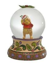 Disney*WINNIE THE POOH WATERBALL*Jim Shore*NEW*Snow Globe*CHRISTMAS*4023560