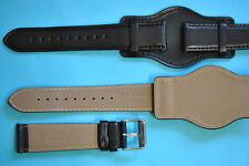 Fliegeruhrenband original Bundeswehr 20mm dreiteilig mit Unterlage, mit Nummer