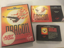 SEGA MEGA DRIVE MEGADRIVE GAME DRAGON THE BRUCE LEE STORY +BOX INSTRUC' COMPLETE