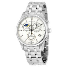 Certina DS- 8 Chrono Moon Phase Stainless Steel  Mens Quartz Watch