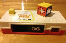 "Vintage Fisher-Price Pocket Camera Flash Cube ""A Day at the ZOO"" WORKING TOY"
