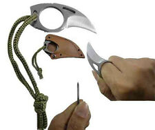 Survival Blades - HRT Karambit Knife + Military Combat Axe + Bear Claw Karambit