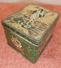 VINTAGE ADVERTISING TIN -COOKS RING TRAVELLERS,MANCHESTER - ART NOUVEAU FAIRY #1