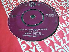 Jimmy Justice,When My Little Girl Is Smiling/If I Lost Your Love, (PYE 1962)