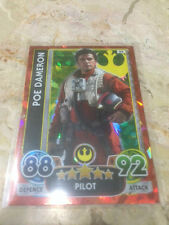STAR WARS Force Awakens - Force Attax Extra Trading Card #99 Poe Dameron