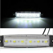 1x 12V 6 LED Side Markers Indicatorr Tail Stop Brake Light Super Bright LED Bulb