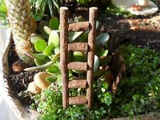Ladder No 2 for Dollhouse Miniature Fairy Faerie Hobbit Gnome Garden