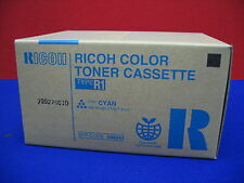 Ricoh Type R1 Toner Cassette Cyan Box Stamped 739270010 Part No. 888343