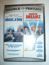 About a Boy / American Dreamz DVD Double Feature 2 comedy movies Paul Weitz NEW!