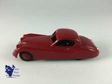 DINKY TOYS 157 JAGUAR XK 120 COUPE RED D'EPOQUE ET D'ORIGINE
