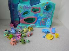 #H Hasbro littlest pet shop playful paws daycare 10 pets accessories extras