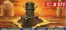 U-BOOT U 571 TYPE VII C - WW II GERMAN SUBMARINE 1/400 MIRAGE