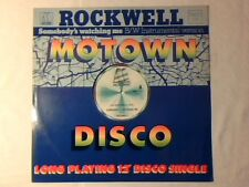"ROCKWELL Somebody's watching me 12"" UK MICHAEL JACKSON"