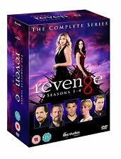 Revenge . The Complete Series .  Season 1 2 3 4 . Emily VanCamp . 24 DVD . NEU