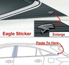 GENUINE TOYOTA HARRIER EAGLE REAR SIDE STICKER DECAL JDM HYBRID XU60 2013-2017