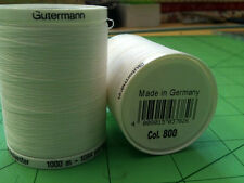 Sewing Thread Gutermann Sew All Thread Polyester White 1000m 2T1000WHT