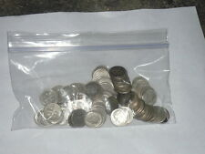 90% Silver Roosevelt Dimes $5 Face Value,  Full Roll of 50 Coins