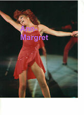 ANN MARGRET SEXY LEGGY IN RED LIL'S PLACE TV SPECIAL '78 CAESARS LAS VEGAS PHOTO