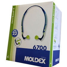 8x MOLDEX 6700 JAZZ BAND-EAR DEFENDER-BANDED EAR PLUGS-SNR:23dB-FREE UK P&P