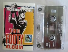 MORE THAN A GAME THE FOOTY ALBUM VARIOUS ARTISTS CASSETTE TAPE