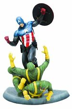 KOTOBUKIYA NEW CAPTAIN AMERICA FINE ART STATUE COLLECTION NEW