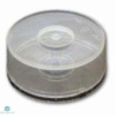 10 CD DVD Plastic Cake Tub holds 25 Disks Spindle Storage Box Empty NEW Case