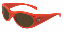 350$ New VUARNET VL1125 Orange Men Sport Sunglasses PX2000 Brown Glass lens