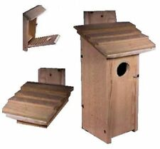 Ark Workshop LARGE WOODPECKER birdhouse for hairy, red bellied, red headed