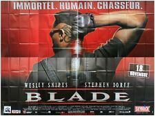BLADE Affiche Cinéma GEANTE 4x3m / WIDE Movie Poster WESLEY SNIPES