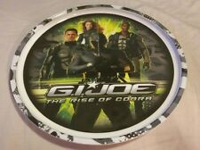 "G I Joe ""The Rise of the Cobra"" Plastic Plate Made by ZAK Designs 8"" in Diameter"