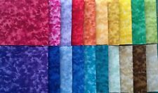 "Harmony Marble Fabric Jelly Roll Strips - 20 strips 2.5"" x 44"" Set 01"