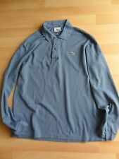 Mens blue long sleeved Lacoste top - size 5