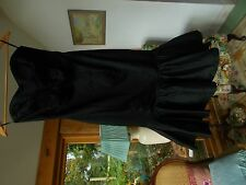 sstrapless evening dress made by coast size 8 black
