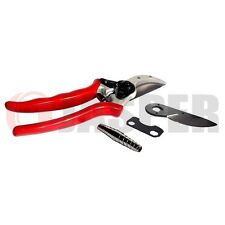 "8 1/2"" Solid Aluminum Forged Bypass Pruner + Rep Blade + Spring , Tracking#"
