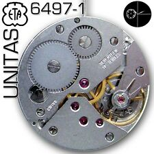 MOVEMENT UNITAS, ETA  6497-1-STANDARD VERSION, SMALL SECOND 9H, NEW IN BOX!