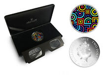 WORLD PREMIERE :: Niue 2$ 2015 Silver 1oz :: CHROMADEPTH coin with 3D Glass!