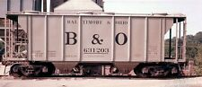 Baltimore and Ohio Class N-43 PS-2 covered hopper decals, in black or white, HO