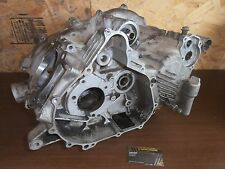 03 Yamaha Kodiak YFM 450 Genuine Complete Engine Crankcase Crank Case Bottom End