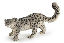 FREE SHIPPING | Papo 50160 Snow Leopard Wild Big Cat - New in Package
